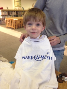 Carson is the first Make-A-Wish kid we had the pleasure of meeting. He is one amazing and inspiring little boy!